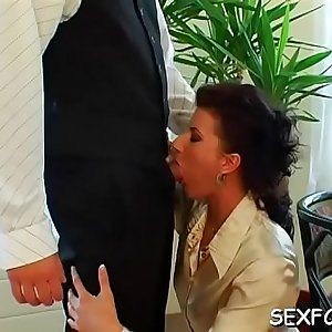 Clothed lezzie act with babes addicted to the marital-device