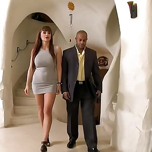 Monster cock filled Aletta Oceans pussy