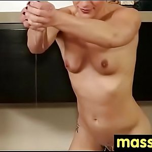 Japanese Masseuse Gives a Full Service Massage 28