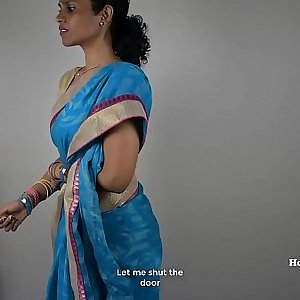 South Indian Mother Lets Her Son Jerk Off Then Fuck Her (Tamil)