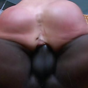 Black Stud Penetrates Hot Milfs Ass
