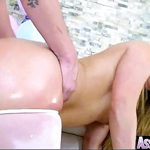 Wild Girl (aj applegate) With Big Oiled Humid Butt Love Ass fucking movie-01