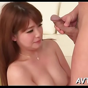 Ravishing japanese delights with raucous cock riding