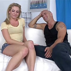 Bailey Blue Getting fucked by Derrick on the couch
