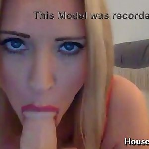 Dirty talking busty blonde with a gentle British accent