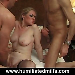 Horny Milf Slut Can't Get Enough Cock