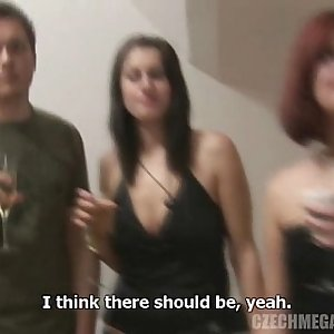 AMATEUR ORGY AT CZECH SWINGERS PARTY