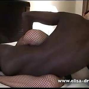 Queen of Spades takes new BBC in her Ass