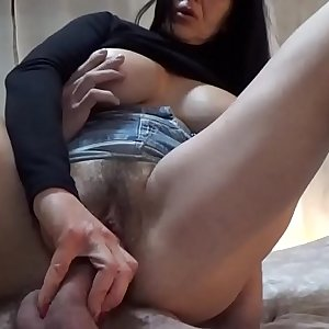 I break my pussy then wrings all the cum in my mouth with SOFIA SEMPLICE