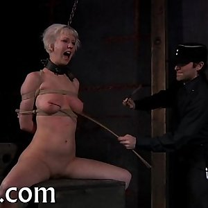 Beauty receives perverted teasing