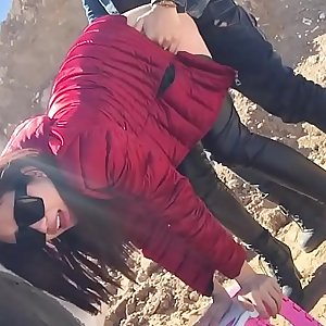 Unexperienced Chinese Fetish Slut Fuck in the Public  HD Porn 45
