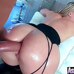 Deep Anal Intercorse With Naughty Big Oiled Butt Woman (AJ Applegate) movie-04