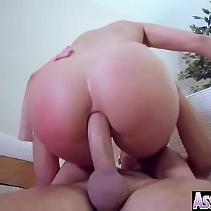 Hard Anal Sex Scene With Oiled Sluty Big Ass Girl (Blanche Bradburry) video-13