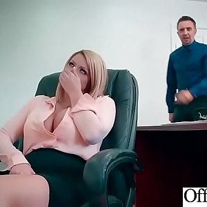 Hard Sex Gauze In Office With Big Round Tits Sexy Girl (Brooklyn Chase) video-07