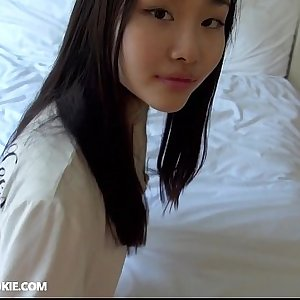Homemade Japanese teen gets fucked hard at home