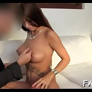 Hawt cowgirl riding with wild playgirl