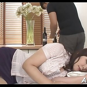 Perverted oriental ass fucking toying